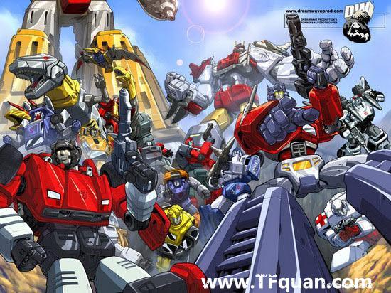 战斗吧!变形机器人—《变形金刚》系列编年史系列之TV版第一、二部